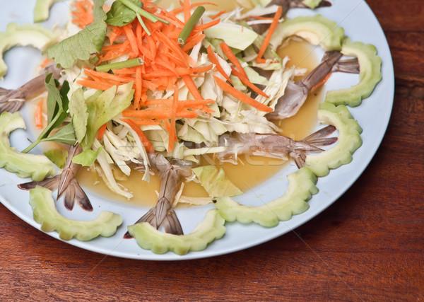shrimp in fish sauce Stock photo © koratmember