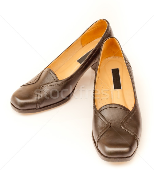 pair of office women's shoes Stock photo © koratmember