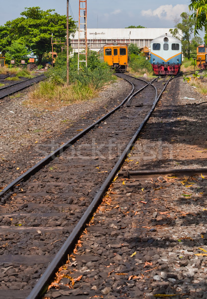 electric train Stock photo © koratmember