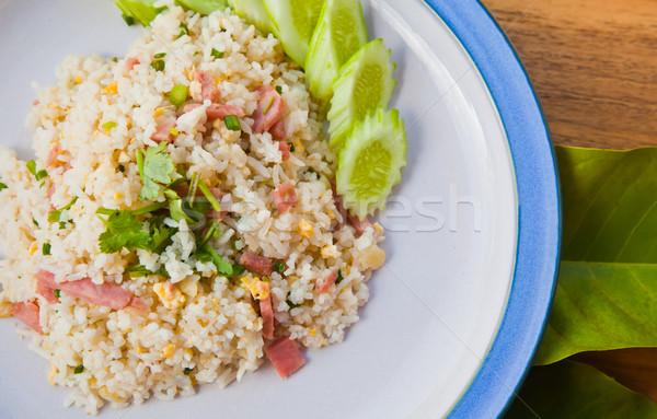 fired rice Stock photo © koratmember
