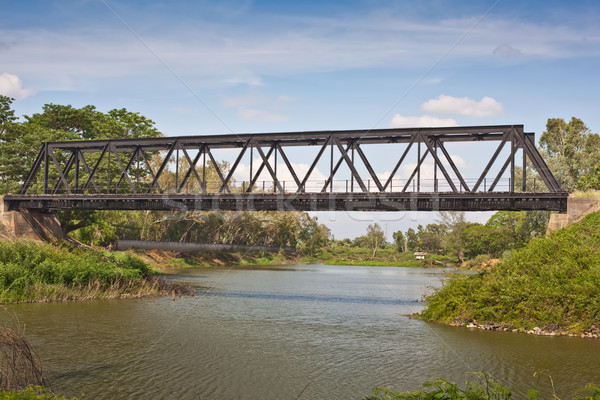 railway bridge Stock photo © koratmember