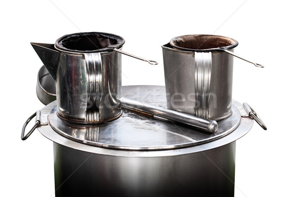 Vintage Coffee Kit System Stock photo © koratmember
