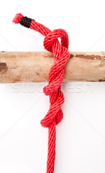 knot series : timber hitch Stock photo © koratmember