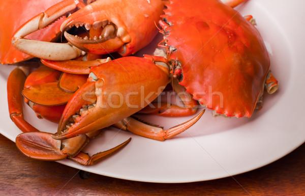 roasted crab Stock photo © koratmember