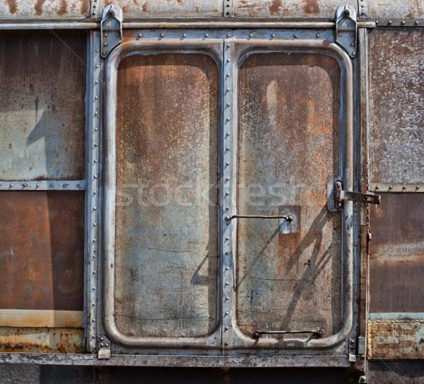 railroad container door Stock photo © koratmember