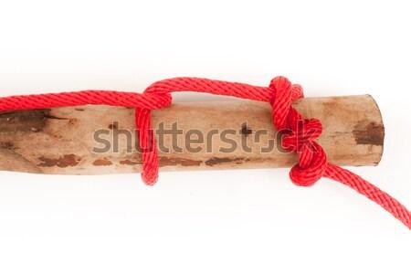 knot series : killick hitch Stock photo © koratmember
