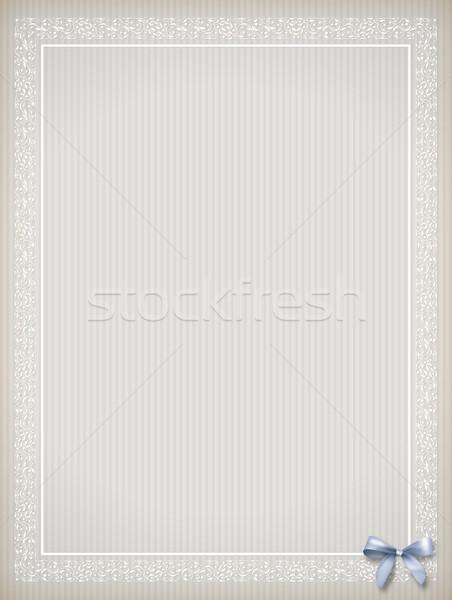 Haveloos vintage chic klassiek frame Stockfoto © kostins