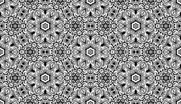 Vector seamless wallpaper pattern Stock photo © kostins