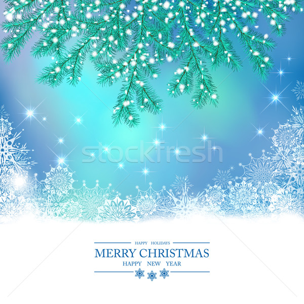 Christmas Vector Background Stock photo © kostins