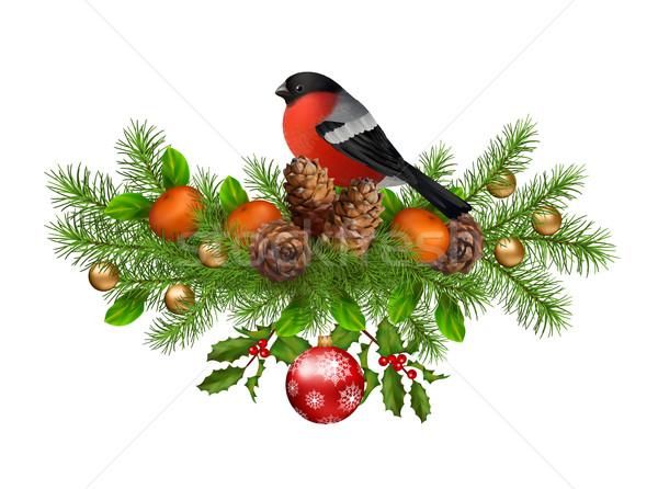 Christmas Vector Card Stock photo © kostins