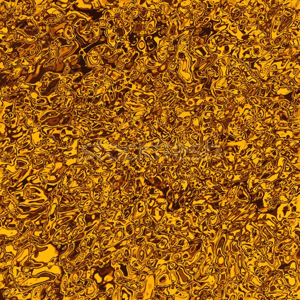 Zdjęcia stock: Złota · tekstury · metalu · płynnych · streszczenie · tle · pomarańczowy