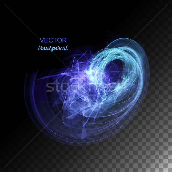 Vector Abstract Curved Lines Stock photo © kostins