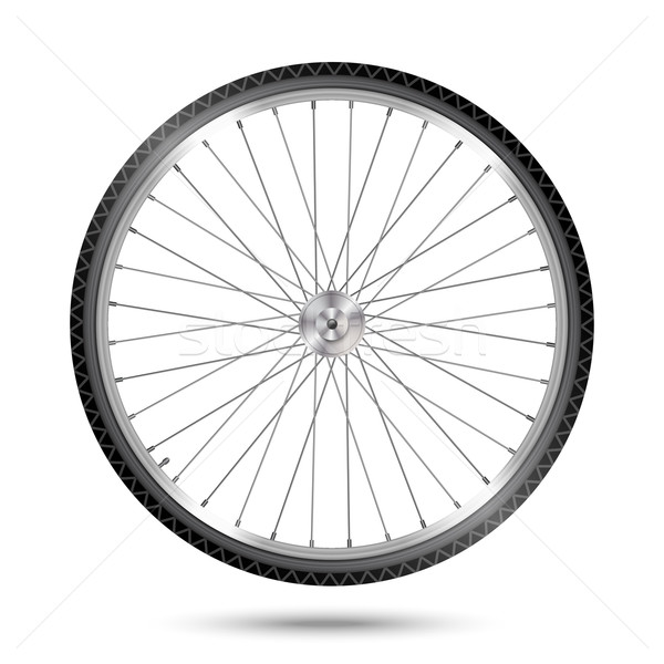 Vector Bicycle Wheel Stock photo © kostins