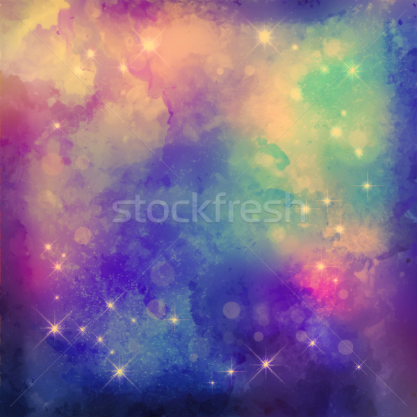 Abstract Night Background Stock photo © kostins