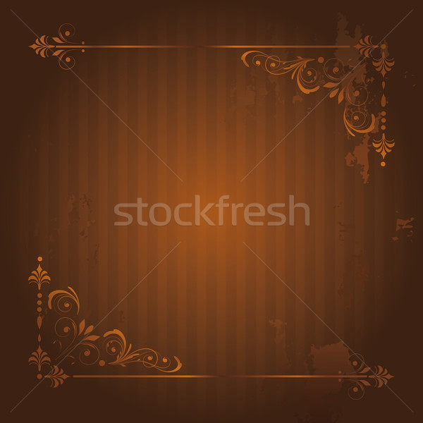 Vintage Background with Grunge Elements. Stock photo © kostins
