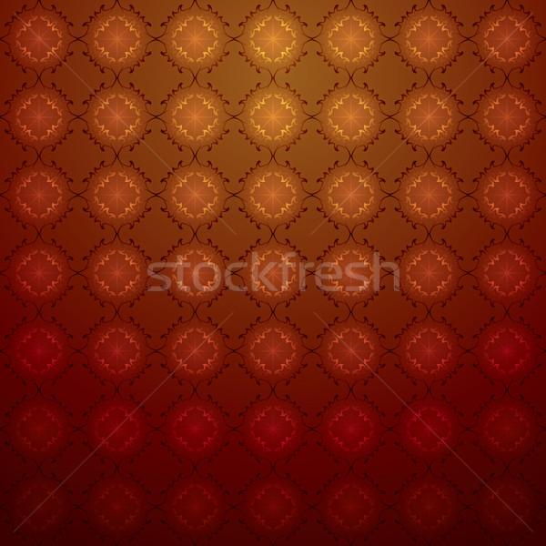 Luxurious seamless pattern wallpaper background Stock photo © kostins