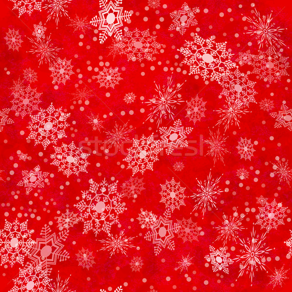 Snowflake Seamless Pattern Stock photo © kostins