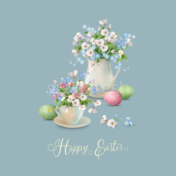 Vector Easter Card Stock photo © kostins