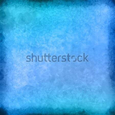 Streszczenie akwarela miejscu malowany strony rysunek Zdjęcia stock © kostins