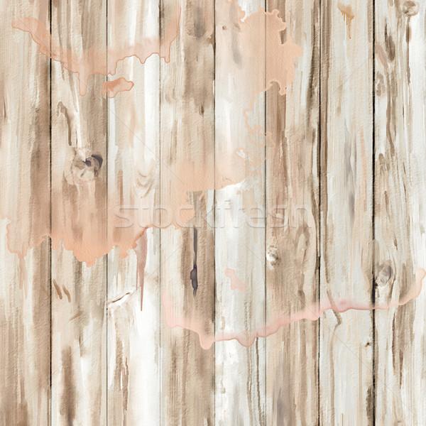 Aquarela textura mão pintado abstrato Foto stock © kostins
