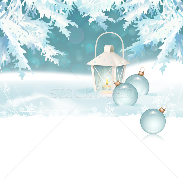 Merry Christmas & New Year Celebration Background Stock photo © kostins
