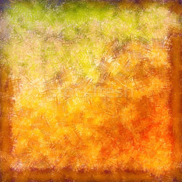 Vektor pasztell ősz absztrakt klasszikus rajz Stock fotó © kostins