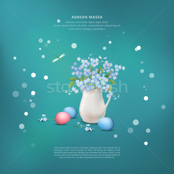 Happy Easter Card Stock photo © kostins