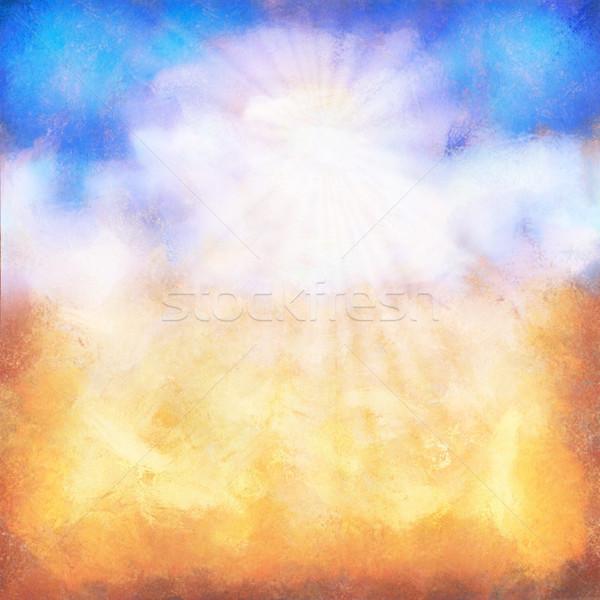 Сток-фото: аннотация · лет · день · небе · нефть · Живопись