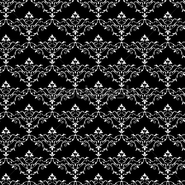 Vintage seamless wallpaper pattern Stock photo © kostins