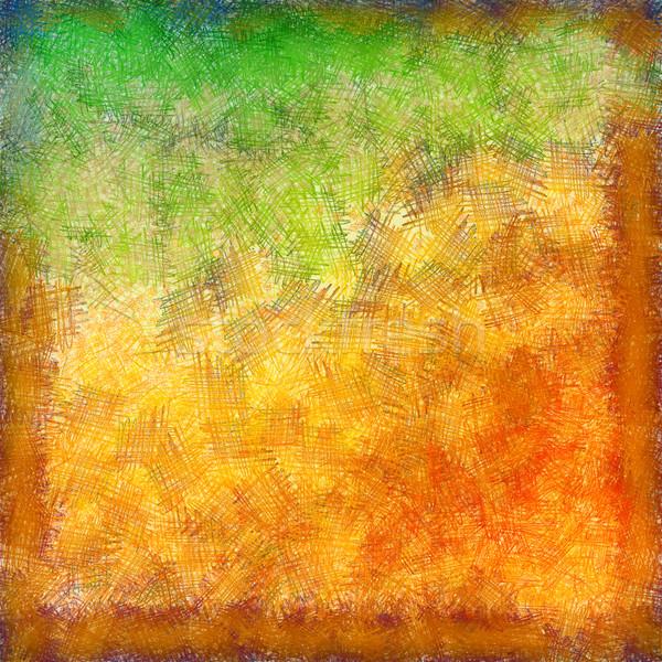 Absztrakt pasztell ősz nyár klasszikus rajz Stock fotó © kostins