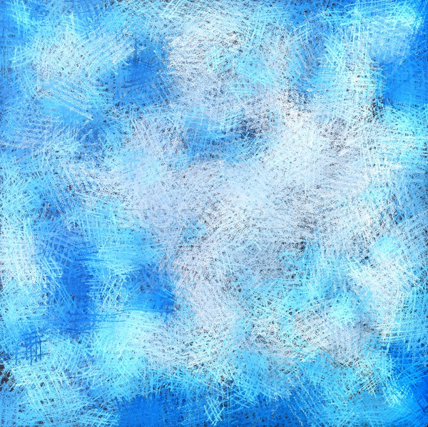 Blue abstract artistic pastel background Stock photo © kostins