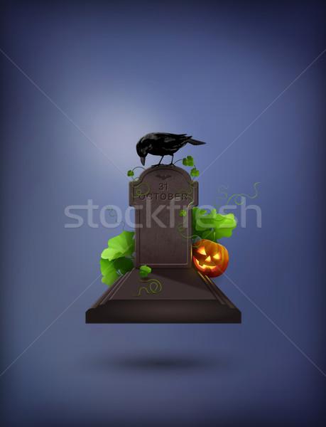 Halloween Party Invitation Stock photo © kostins