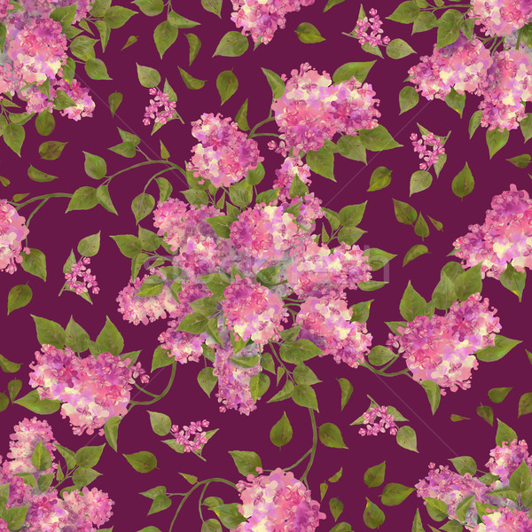 Floral Seamless Pattern Stock photo © kostins