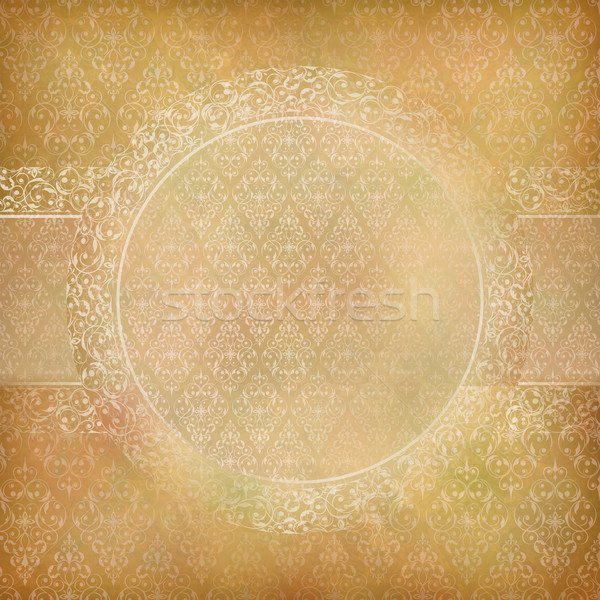 Kant banner kaart abstract vintage vector Stockfoto © kostins