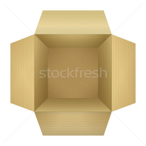 Corrugated Cardboard Box Stock photo © kostins