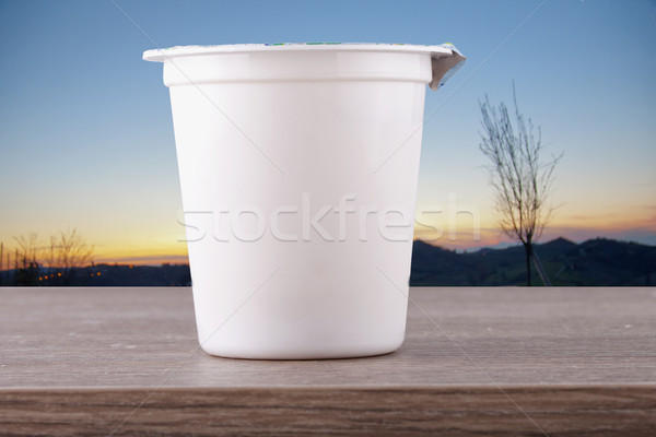 Yoghurt Stock photo © Koufax73