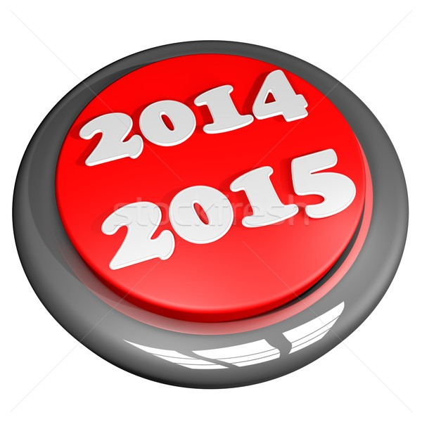 2014 2015 button Stock photo © Koufax73