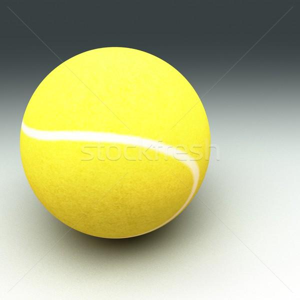 Stock fotó: Tenisz · cement · föld · teniszlabda · felület · tér