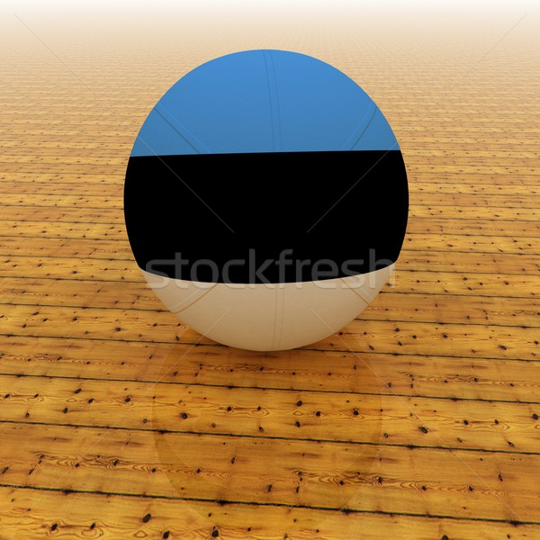 Estonia basketball Stock photo © Koufax73