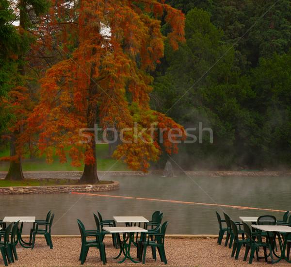 Thermal lake Stock photo © Koufax73