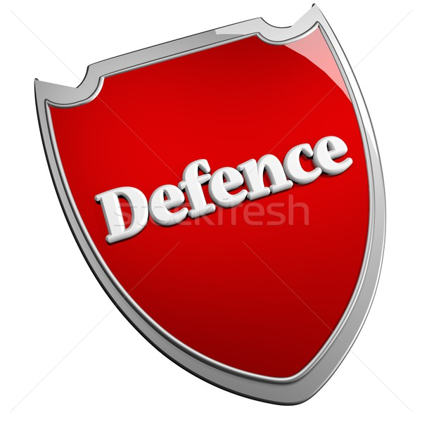 Defence shield Stock photo © Koufax73