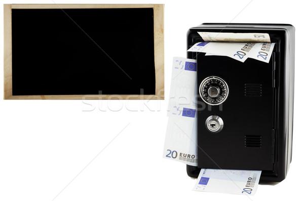 Strongbox and Blackboard Stock photo © Koufax73