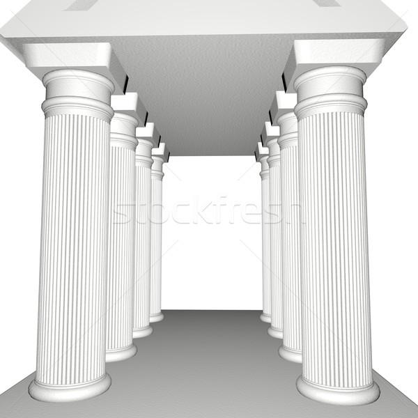 Greek Temple Stock photo © Koufax73