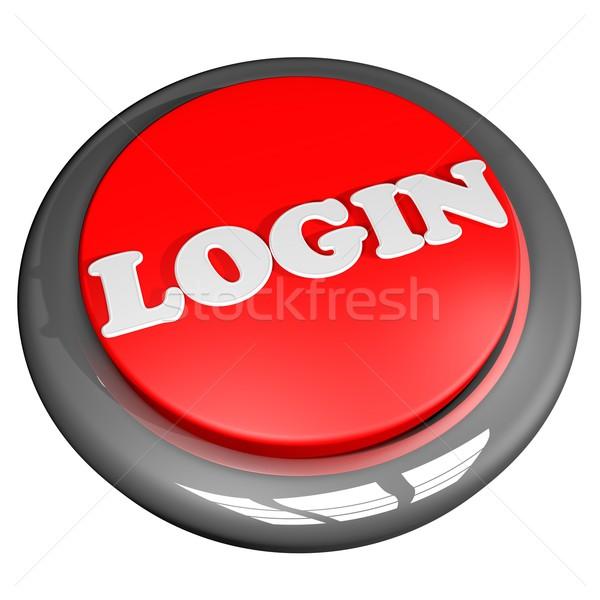 Login button Stock photo © Koufax73