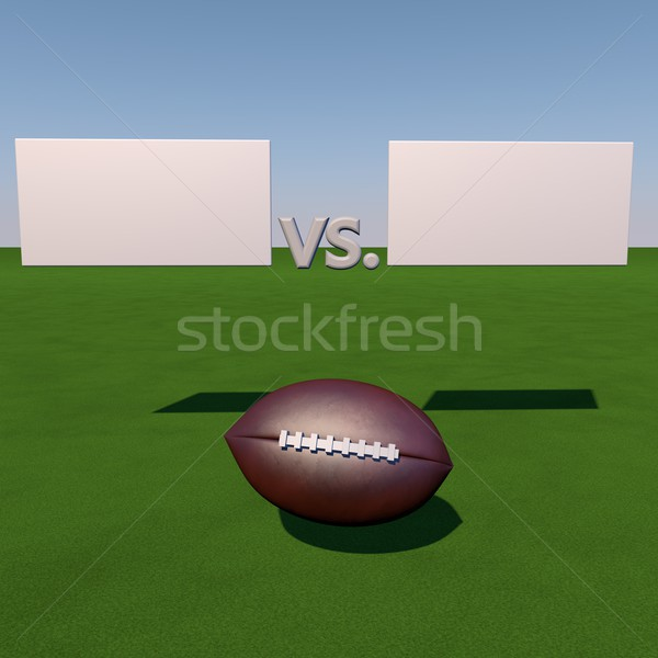 Football score Stock photo © Koufax73
