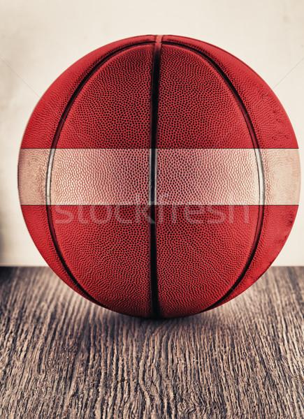 Latvia basketball Stock photo © Koufax73