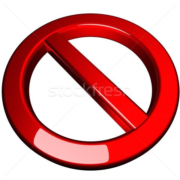 Ban symbol Stock photo © Koufax73