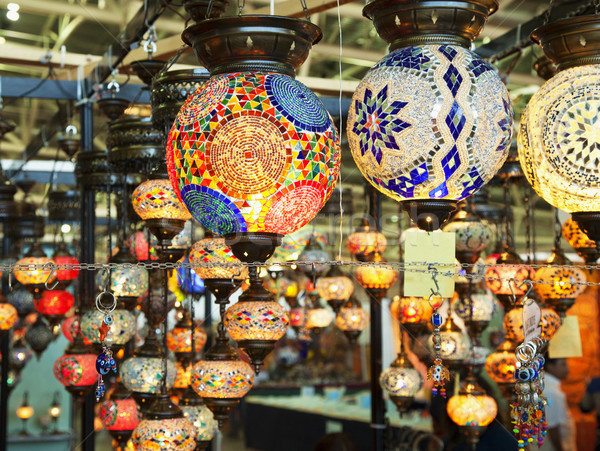 Turkish lamps Stock photo © Koufax73