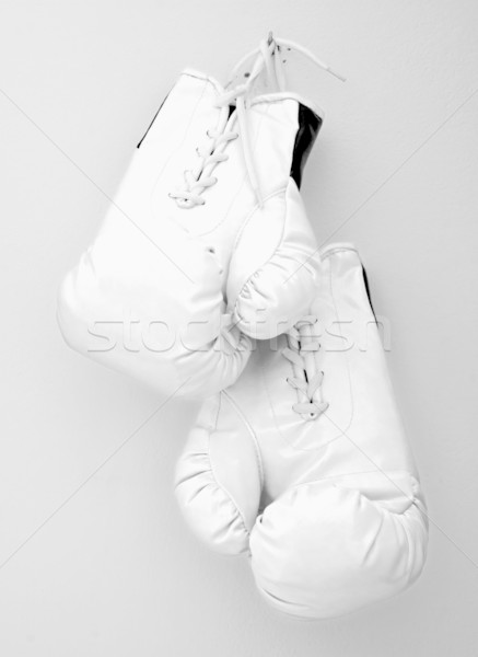 Gants blanche attente clou mur texture Photo stock © Koufax73