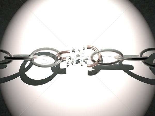 Broken chain Stock photo © Koufax73